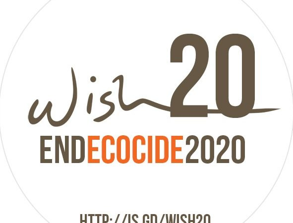 End Ecocide 2020 http://is.gd/wish20