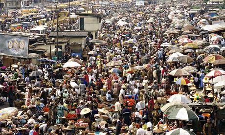 Image of Oshodi market in Lagos, Nigeria | James Marshall/Corbis
