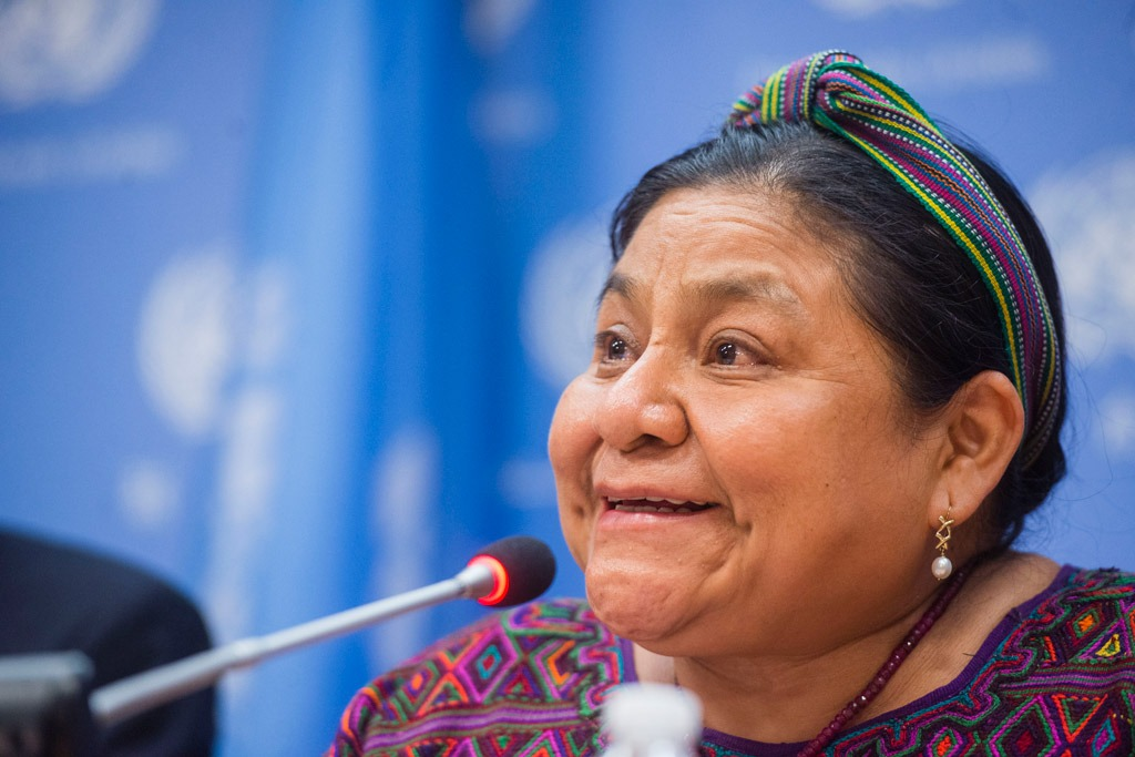 a biography of rigoberta menchu an indigenous guatemalan woman Rigoberta menchú is a nobel peace prize laureate, indigenous woman and survivor of genocide in guatemala she seeks the observance of a code of ethics for an.