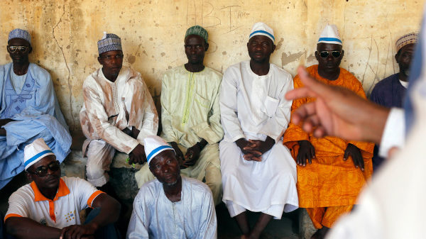 Photo of Participants in Niger's School for Husbands | Ron Haviv | VII for NPR