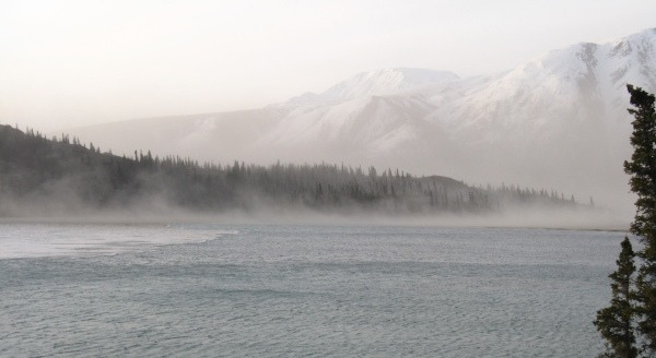 Photo of Kluane Lake , Yukon Territory by Erika Gavenus