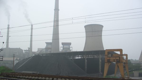 Photo of Chinese Coal Power Plant via the NRDC