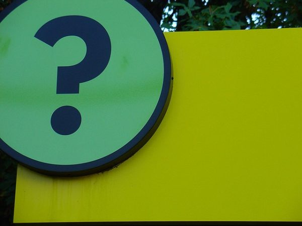 'Q is for Question Mark' | Photo by Ben R | Flickr | CC BY-NC-ND 2.0