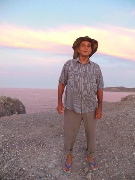 Photo of Pablo Cuevas, a great human being and fisherman by Lourdes Martínez Estévez