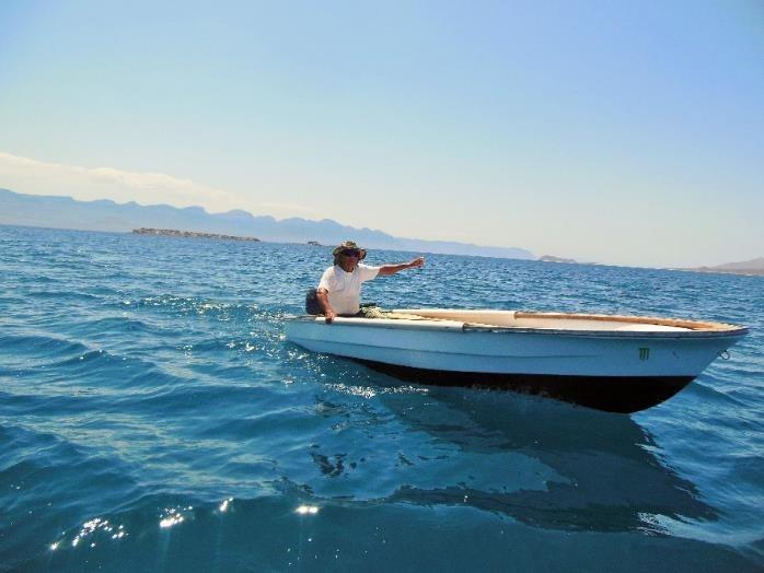 Photo of Pablo going fishing by Lourdes Martínez Estévez