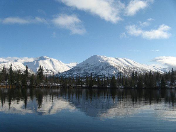 Trout  Lake, Chugach National Forest, Alaska   Photo by Erika Gavenus