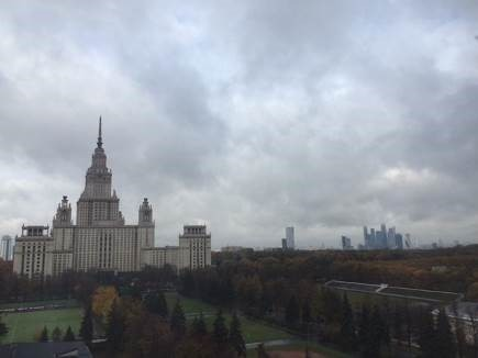 Host Institution, Moscow State University | © M.C.Tobias 2015