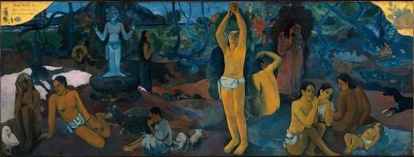 Paul Gauguin D'où Venons Nous/Que Sommes Nous/Où Allons Nous