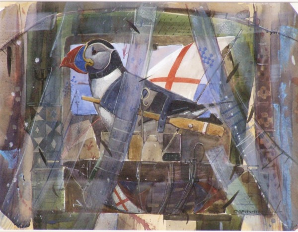 <em>Boat Song of the Puffin</em> Derek Robertson