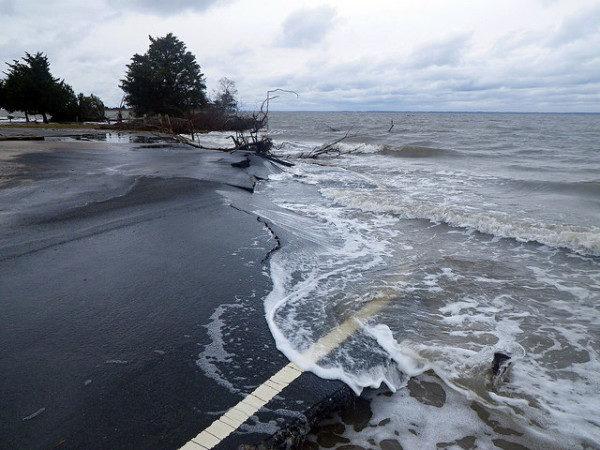Assateague Island National Seashore following Hurricane Sandy | Flickr | National Parks Service