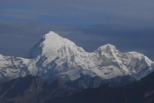 Chomolhari, 24,035', Northwestern Bhutan © M. C. Tobias