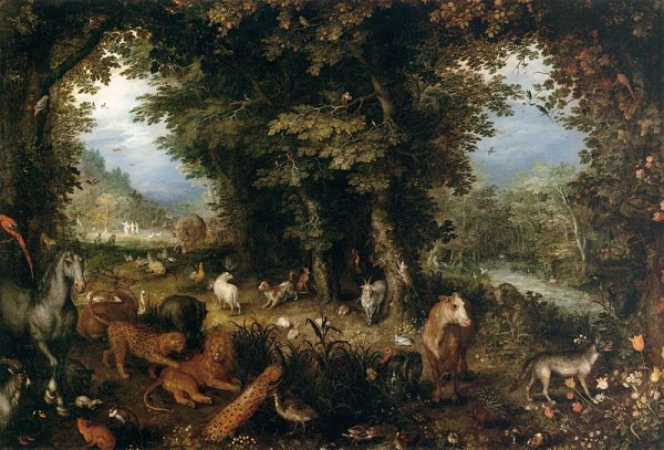 Jan Brueghel the Elder Earth 1607-1608, oil on copper, 45cm x 65cm  | Wikimedia Commons