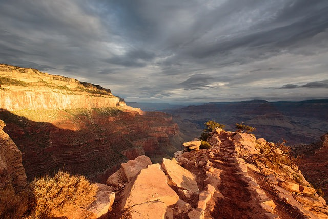 July brings monsoon season to the American SouthwestSouth Kaibab Trail Sunrise, Grand Canyon National Park by Steffo Photography | Flickr | CC BY-NC 2.0