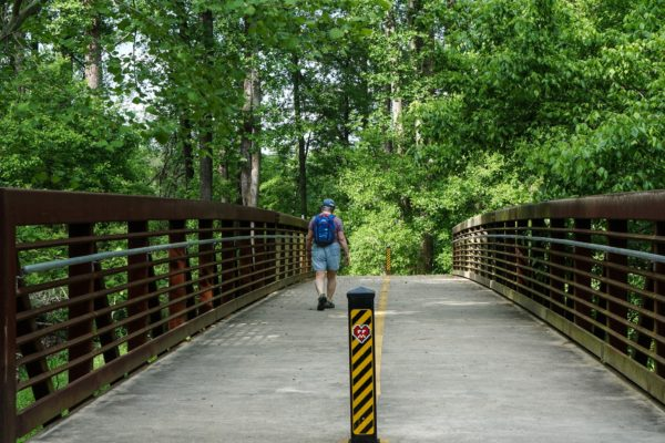 Re-purposing old railroad segments, Atlanta's BeltLine trail connects neighborhoods and parks promoting health and green space | Beltline by Alan Sandercock | Flickr | CC BY 2.0