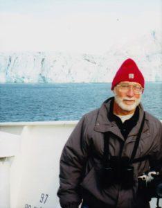 Brent Langley in Svalbard