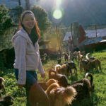 Ms. Tashi Payden at a Dog Sanctuary in Western Bhutan, © J.G. Morrison