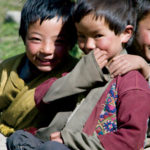Brokpa Children, Eastern Bhutan, © M.C. Tobias