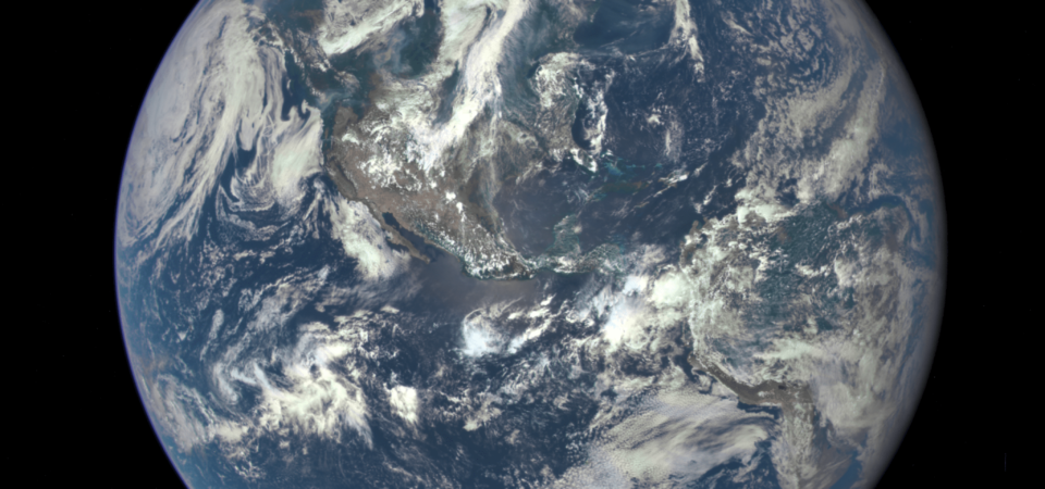 Image from NASA Deep Space Climate Observatory