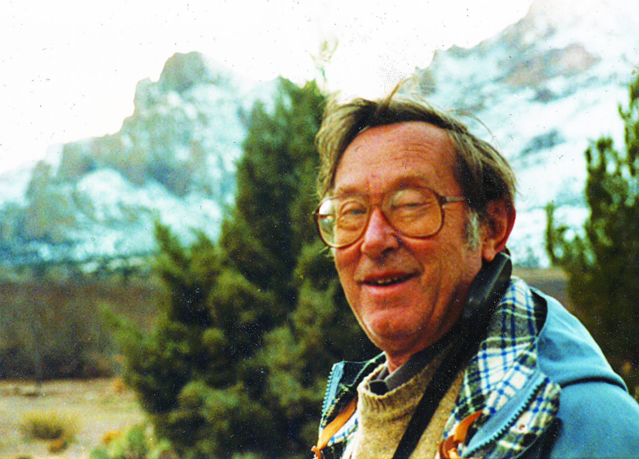 Arthur singer in the Tetons