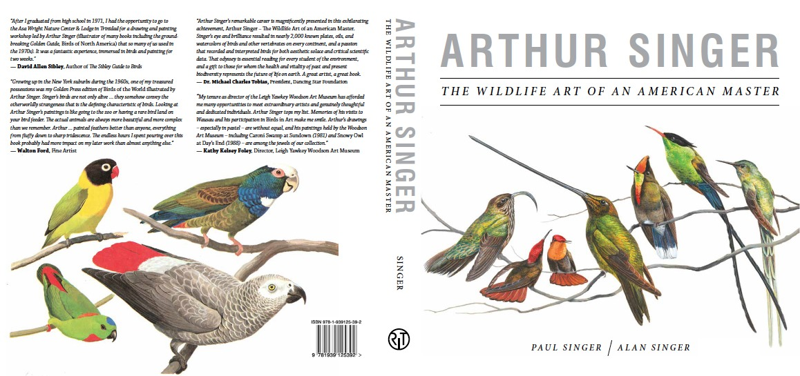 Back and front covers of Arthur Singer: The Wildlife Art of an American Master