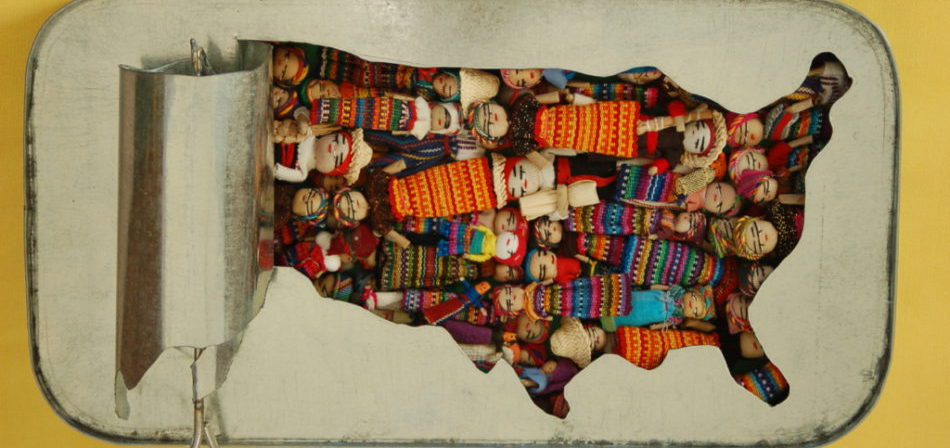 Richard Grossman. The Most Overpopulated Country. © Richard Grossman, MD.