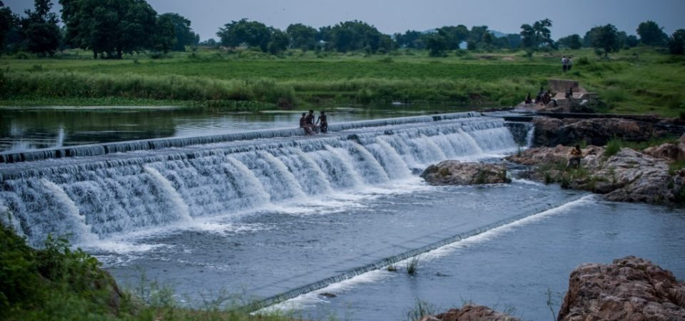 Check dams can enhance the natural resource base.