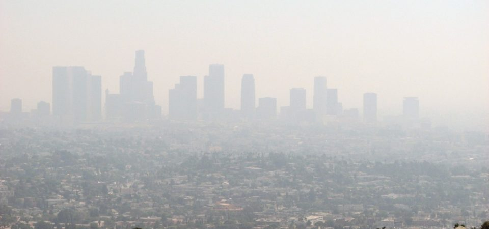 Efforts to reduce air pollution can have immediate benefits for public health. Los Angeles Smog by Ben Amstutz | Flickr | CC BY-NC 2.0