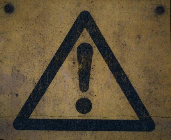 Warning by Karl Herler | Flickr | CC BY 2.0