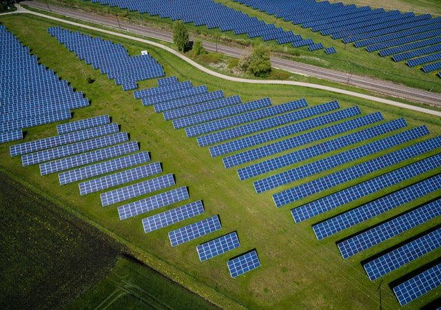 Solar panels in Offing, Germany, a country currently in the midst of a renewable energy revolution. (Photo: Andreas Gucklhorn / Unsplash)