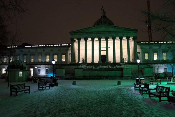 London snow: gorgeous and deadly. Ilan Kelman.