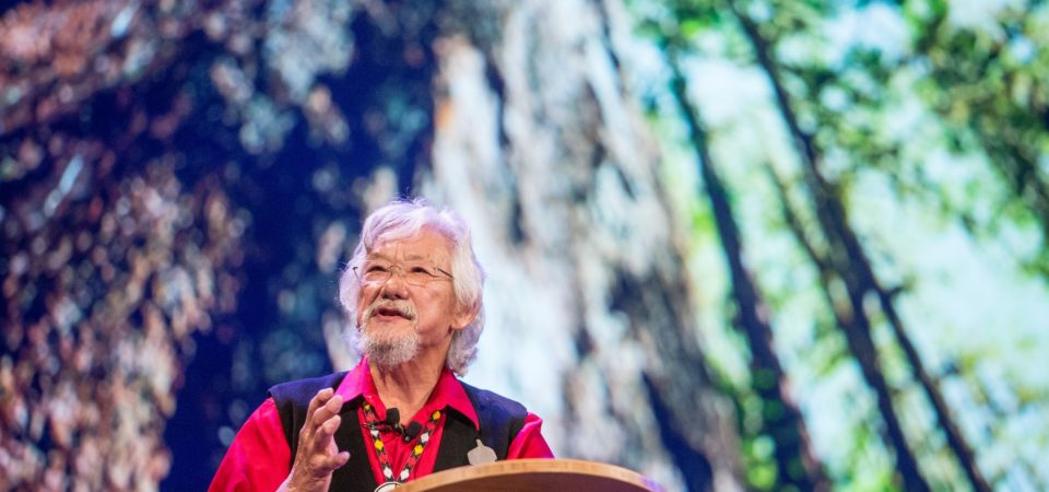 David Suzuki - Blue Dot Tour - Vancouver, BC, Canada by kris krüg | Flickr | CC BY-NC-ND 2.0