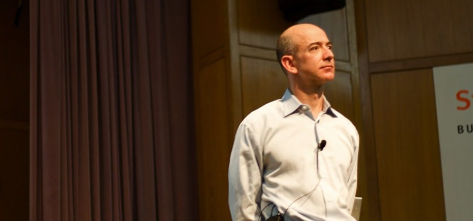 Jeff Bezos by Mathieu Thouvenin | Flickr | CC BY-NC-ND 2.0