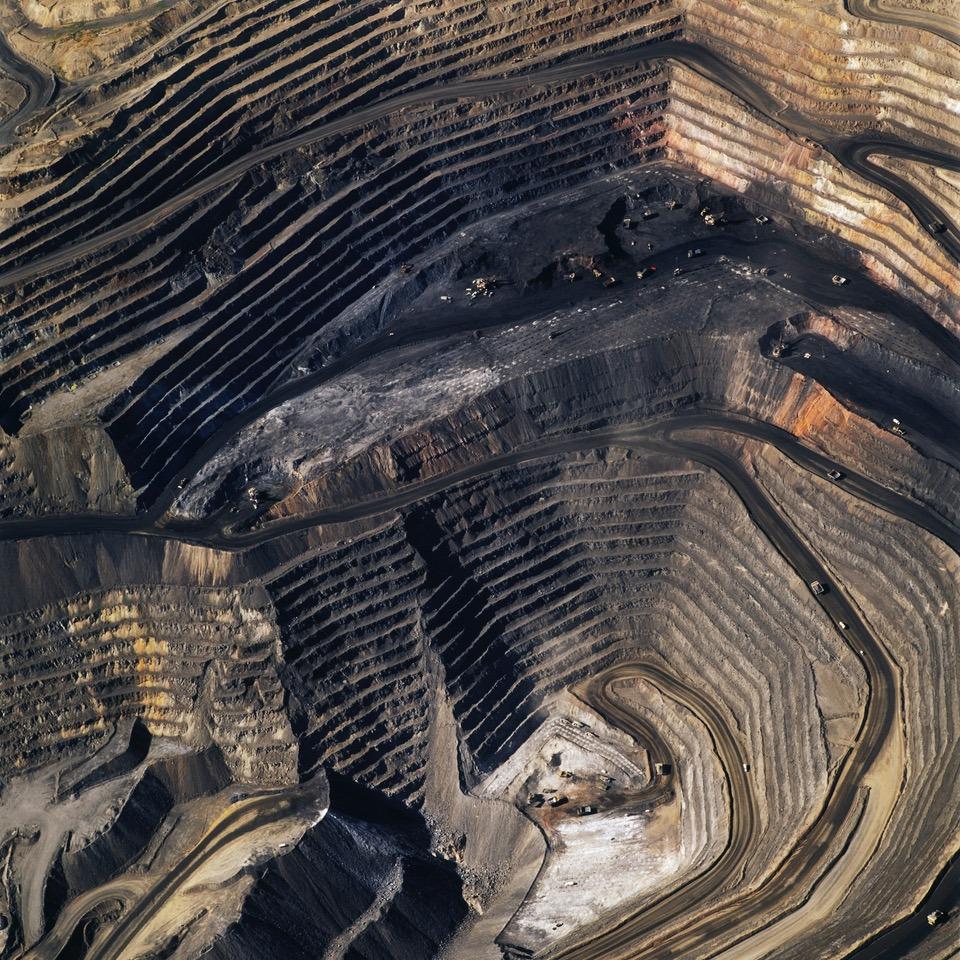 American Mine (Carlin, Nevada 2, 2007) © David Maisel