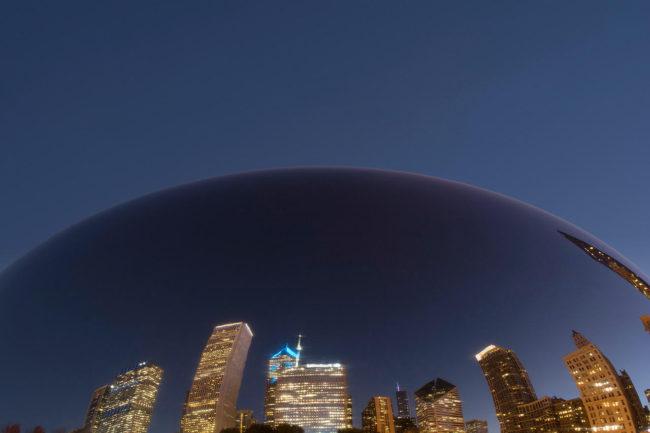 Project: No Dark in Sight | Title: Site 0340 - Chicago | Bill Davis