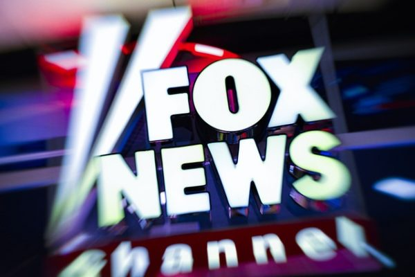 Fox News in lights