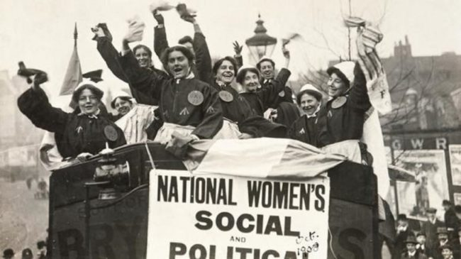 The Suffragettes fought for decades for women's suffrage in what seemed to many like a hopeless cause