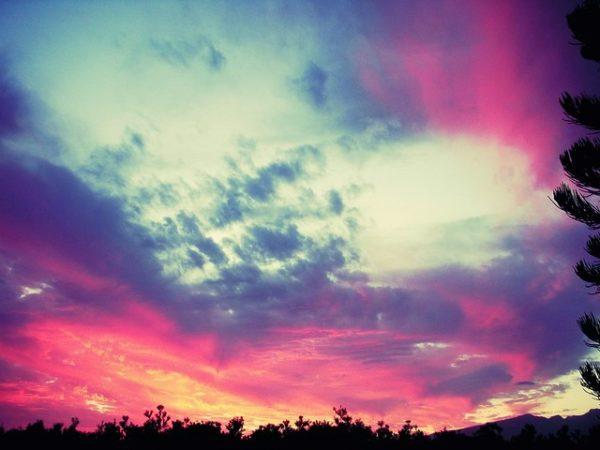 Swirling Sunset