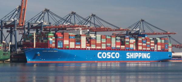 Cosco Shipping Vessel