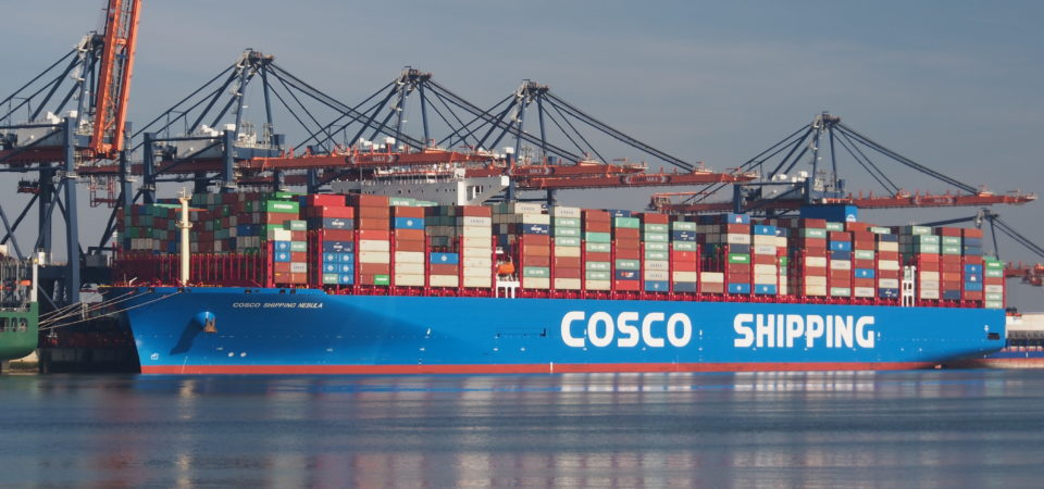 Cosco Shipping Vessel