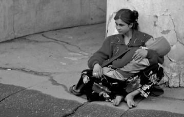 Figure 4 Homeless Mother with Child.