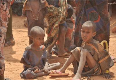 Undernourished children