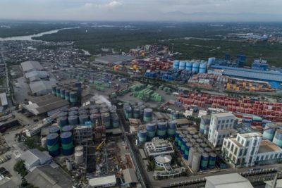 Palm oil refinery