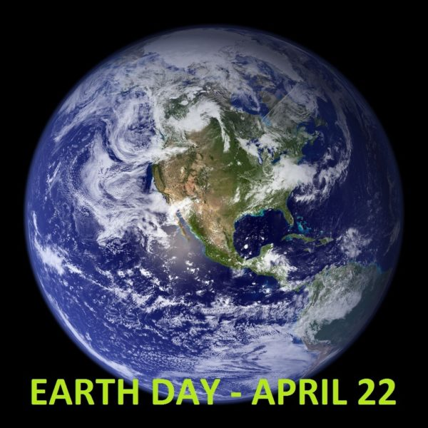 Earth from space, Earth Day 22 April