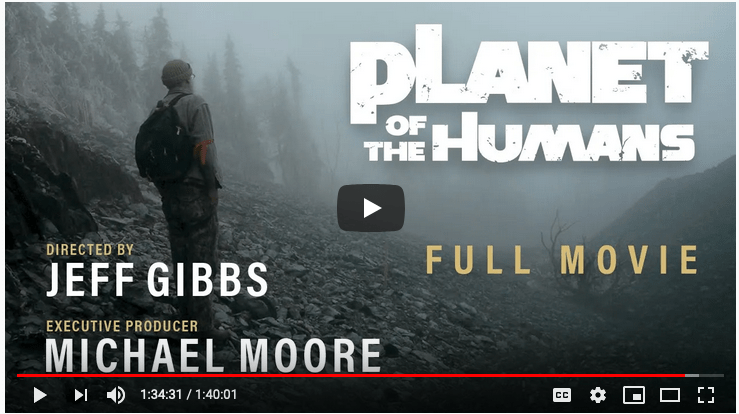 Planet of the Humans - trailer cover