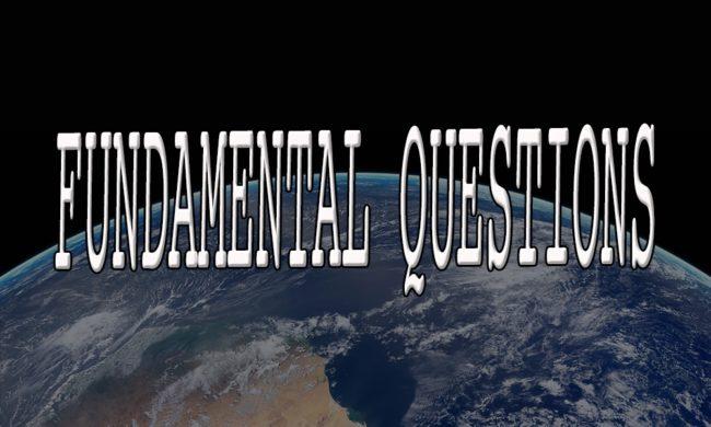 Fundamental Questions series