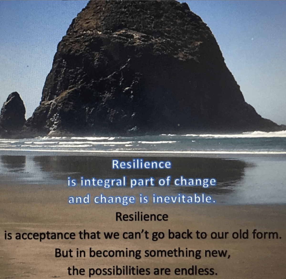 Marianne Bickett's contribution for the art call Resilience