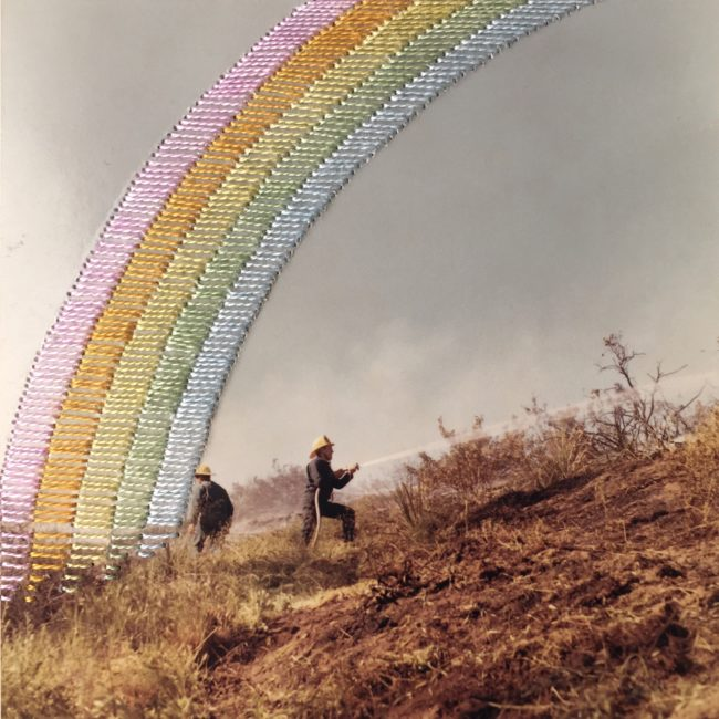 #morerainbows by Marie Cameron California Fires