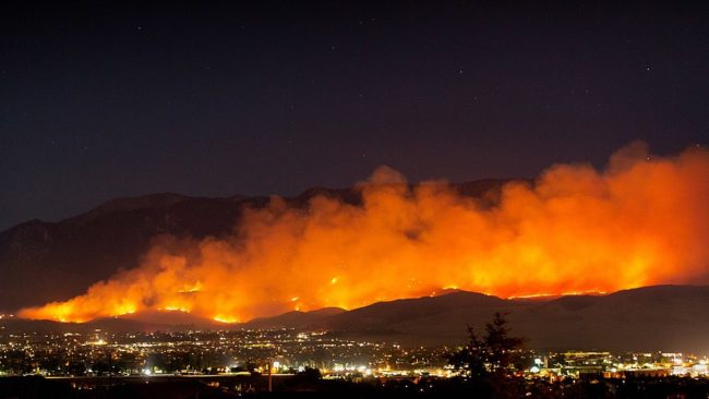 Californian wildfires