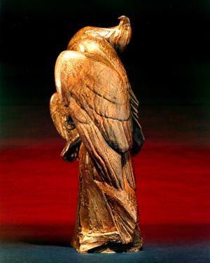 Requiem for Prince William Sound 1989, Bronze, 26.5x8x8 Maquette for Exxon Valdez Oil Spill Monument