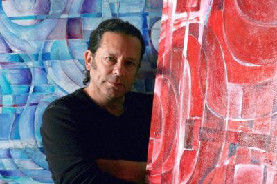 Ted Meyer in studio